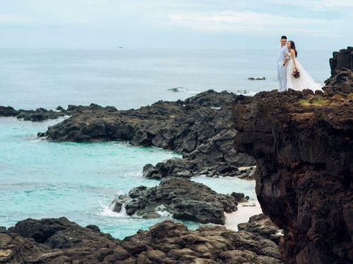 Kinh nghiệm chụp hình cưới đẹp mê ly của nàng dâu Lý Sơn - Hình ảnh 2