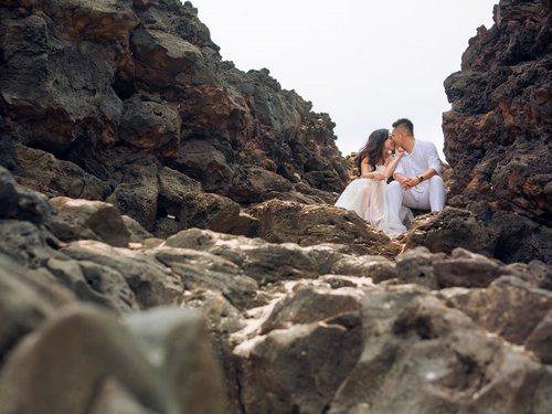 Kinh nghiệm chụp hình cưới đẹp mê ly của nàng dâu Lý Sơn - Hình ảnh 3