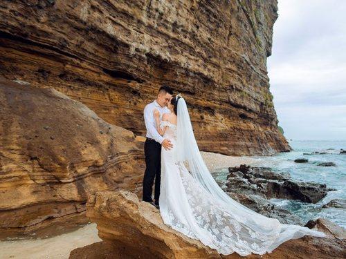 Kinh nghiệm chụp hình cưới đẹp mê ly của nàng dâu Lý Sơn - Hình ảnh 4