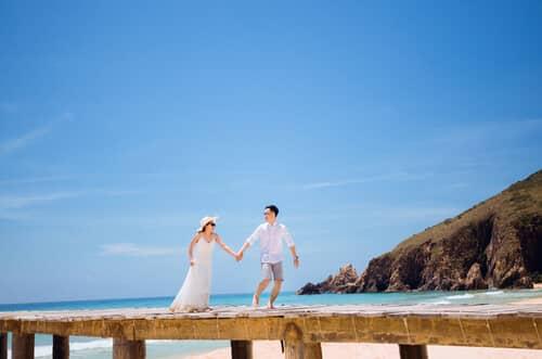 Lạc bước giữa thiên đường ảnh cưới đẹp ngất ngây tại Quy Nhơn - hình ảnh 13