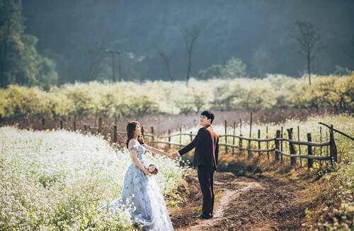 Ngất ngây với địa điểm chụp ảnh cưới đẹp ngỡ như trời Tây - hình ảnh 1