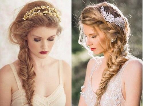 Top 10 kiểu tóc cô dâu đẹp nhất 2019 cho ngày cưới thêm hoàn hảo - hình ảnh 21