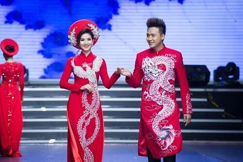Top 5 địa chỉ may áo dài cưới đẹp ở TPHCM - hình ảnh 2