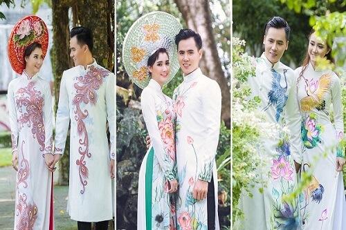 Top 5 địa chỉ may áo dài cưới đẹp ở TPHCM - hình ảnh 3