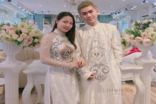 Top 5 địa chỉ may áo dài cưới đẹp ở TPHCM - hình ảnh 4