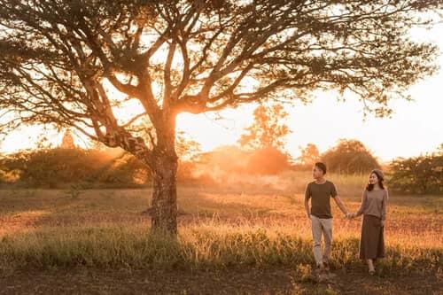 Uyên ương chạy đua cùng mặt trời khi chụp ảnh cưới ở Bagan - hình ảnh 13