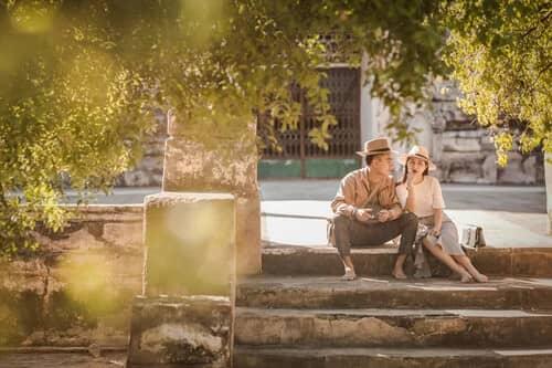 Uyên ương chạy đua cùng mặt trời khi chụp ảnh cưới ở Bagan - hình ảnh 5