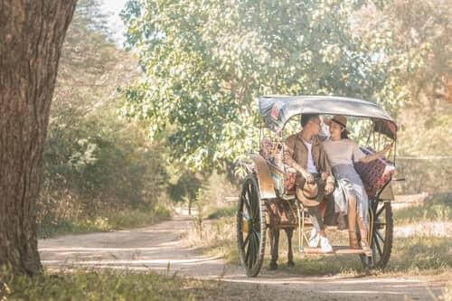 Uyên ương chạy đua cùng mặt trời khi chụp ảnh cưới ở Bagan - hình ảnh 6