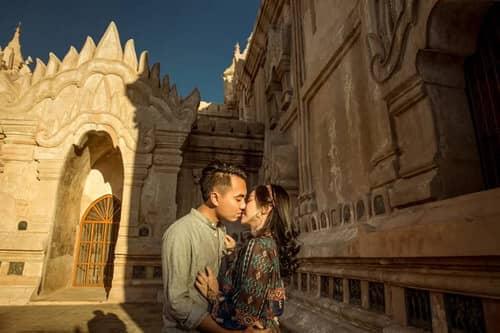 Uyên ương chạy đua cùng mặt trời khi chụp ảnh cưới ở Bagan - hình ảnh 9