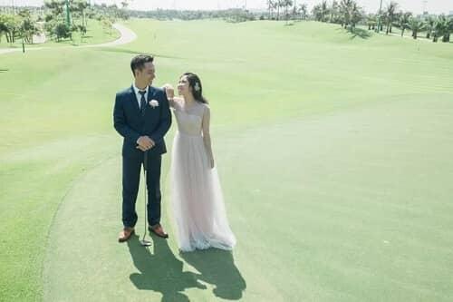 Uyên ương TPHCM chụp ảnh cưới có '1-0-2' ở sân golf - hình ảnh 13