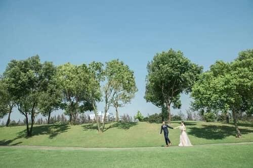 Uyên ương TPHCM chụp ảnh cưới có '1-0-2' ở sân golf - hình ảnh 14