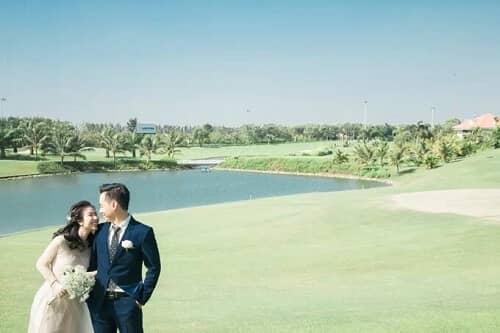 Uyên ương TPHCM chụp ảnh cưới có '1-0-2' ở sân golf - hình ảnh 15