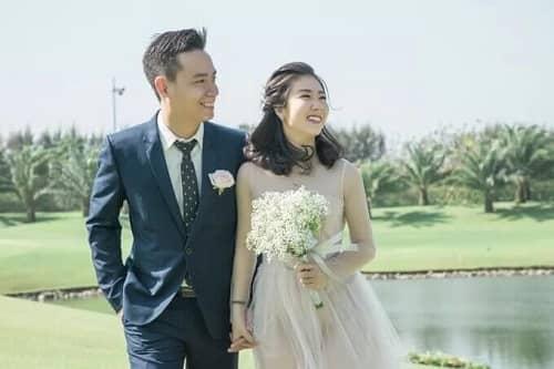 Uyên ương TPHCM chụp ảnh cưới có '1-0-2' ở sân golf - hình ảnh 3