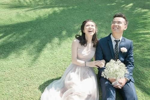 Uyên ương TPHCM chụp ảnh cưới có '1-0-2' ở sân golf - hình ảnh 4