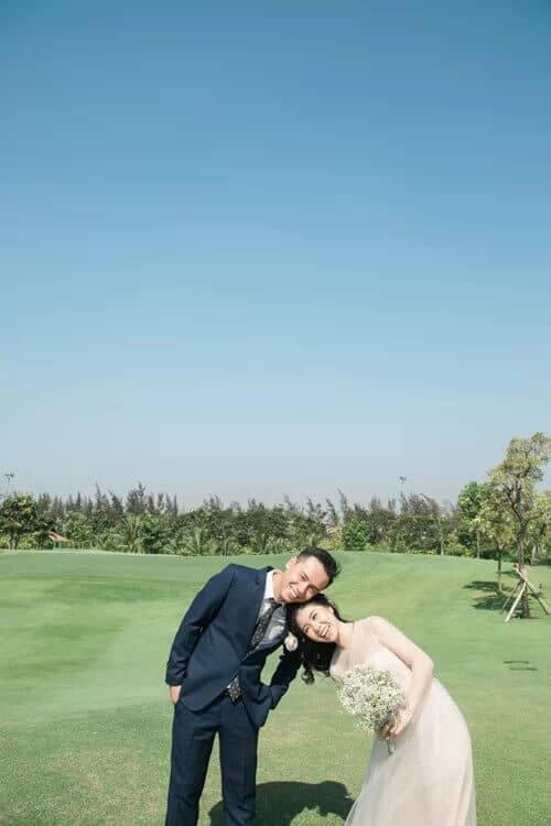 Uyên ương TPHCM chụp ảnh cưới có '1-0-2' ở sân golf - hình ảnh 7