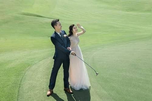 Uyên ương TPHCM chụp ảnh cưới có '1-0-2' ở sân golf - hình ảnh 8