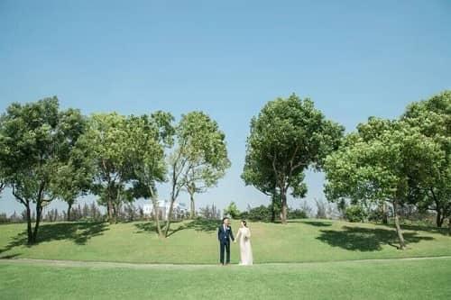 Uyên ương TPHCM chụp ảnh cưới có '1-0-2' ở sân golf - hình ảnh 9