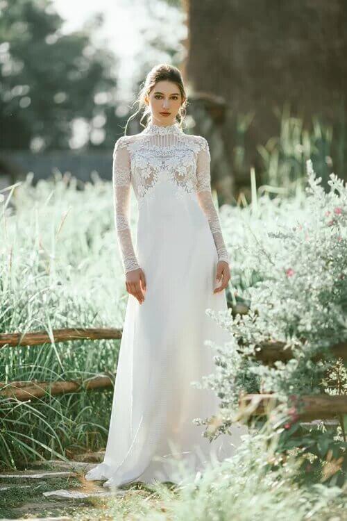 Xu hướng váy cưới boho chic cho mùa thu đông - hình ảnh 1