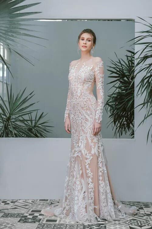 Xu hướng váy cưới boho chic cho mùa thu đông - hình ảnh 10