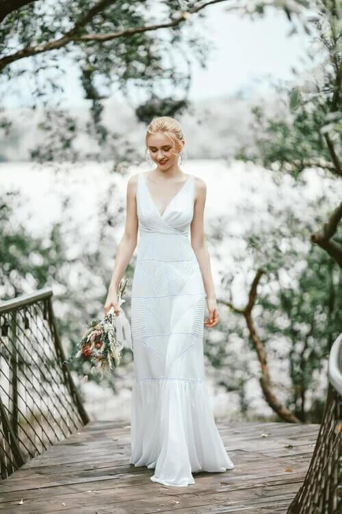 Xu hướng váy cưới boho chic cho mùa thu đông - hình ảnh 2