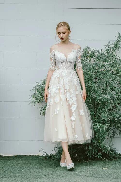 Xu hướng váy cưới boho chic cho mùa thu đông - hình ảnh 4