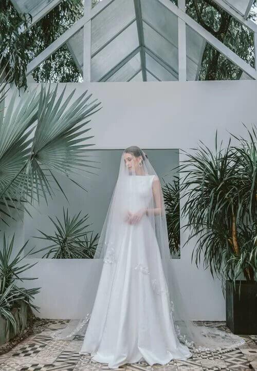 Xu hướng váy cưới boho chic cho mùa thu đông - hình ảnh 7