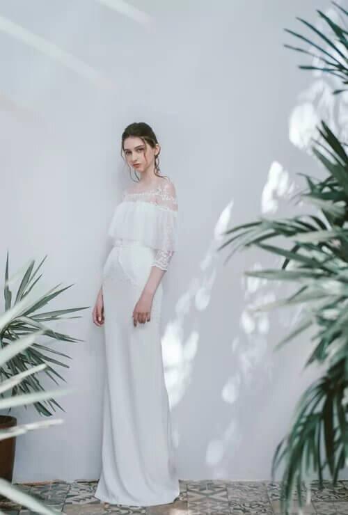 Xu hướng váy cưới boho chic cho mùa thu đông - hình ảnh 8