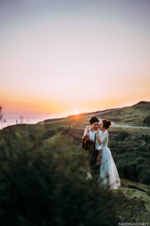 Ảnh cưới thơ mộng giữa khung cảnh Lý Sơn hùng vĩ - hình ảnh 1