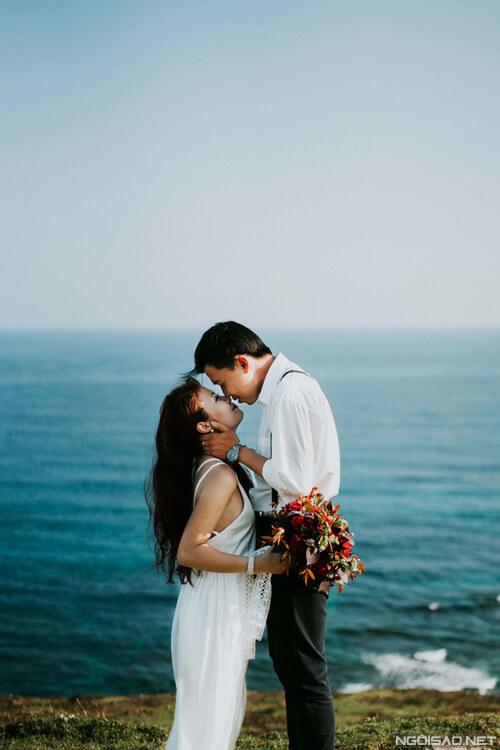 Ảnh cưới thơ mộng giữa khung cảnh Lý Sơn hùng vĩ - hình ảnh 10