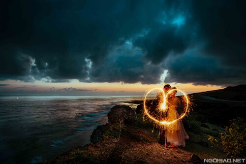Ảnh cưới thơ mộng giữa khung cảnh Lý Sơn hùng vĩ - hình ảnh 12
