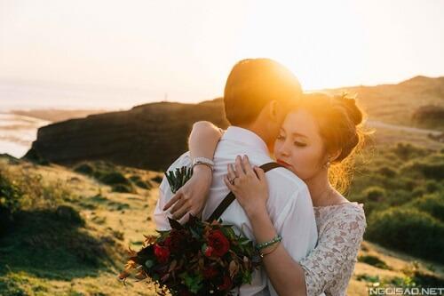 Ảnh cưới thơ mộng giữa khung cảnh Lý Sơn hùng vĩ - hình ảnh 3