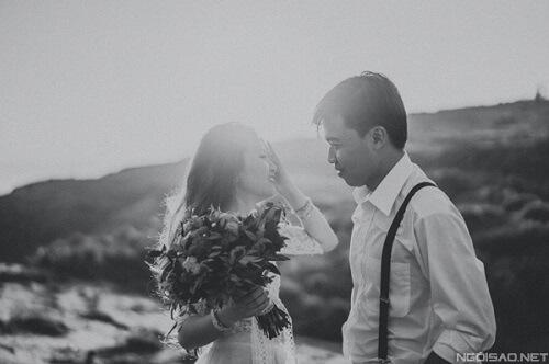 Ảnh cưới thơ mộng giữa khung cảnh Lý Sơn hùng vĩ - hình ảnh 5