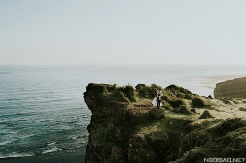 Ảnh cưới thơ mộng giữa khung cảnh Lý Sơn hùng vĩ - hình ảnh 6