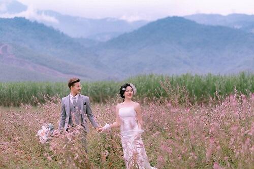 Đồng hoa mào gà, điểm chụp ảnh cưới mới tại Đà Nẵng - hình ảnh 2