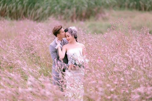 Đồng hoa mào gà, điểm chụp ảnh cưới mới tại Đà Nẵng - hình ảnh 4