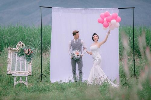 Đồng hoa mào gà, điểm chụp ảnh cưới mới tại Đà Nẵng - hình ảnh 6