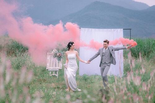 Đồng hoa mào gà, điểm chụp ảnh cưới mới tại Đà Nẵng - hình ảnh 7