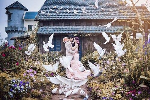 Ngất ngây với 20 phim trường chụp ảnh cưới đẹp nhất ở Hà Nội - hình ảnh 15