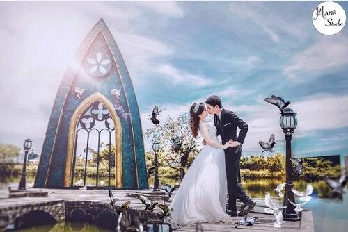Ngất ngây với 20 phim trường chụp ảnh cưới đẹp nhất ở Hà Nội - hình ảnh 6