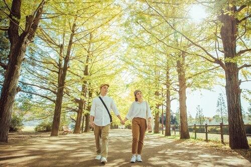 Ảnh cưới 15 triệu đồng giữa nắng thu Tokyo - hình ảnh 2