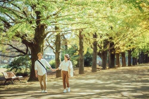 Ảnh cưới 15 triệu đồng giữa nắng thu Tokyo - hình ảnh 3