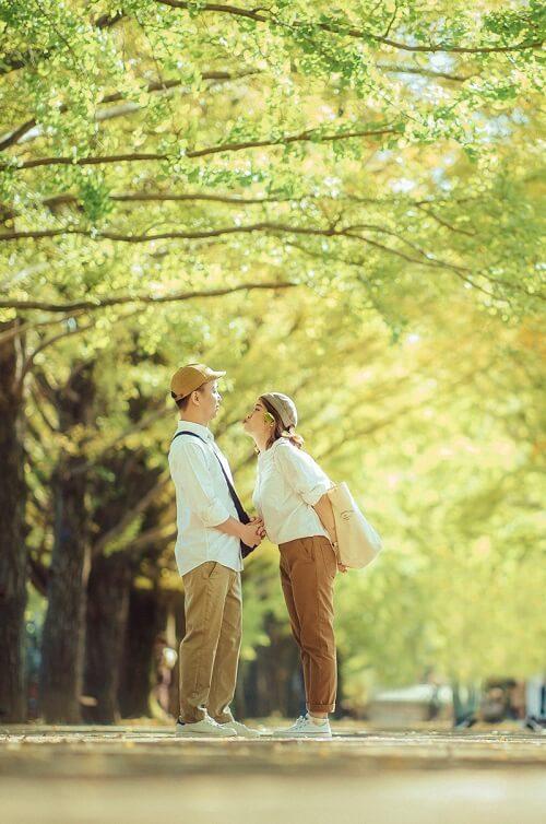 Ảnh cưới 15 triệu đồng giữa nắng thu Tokyo - hình ảnh 4