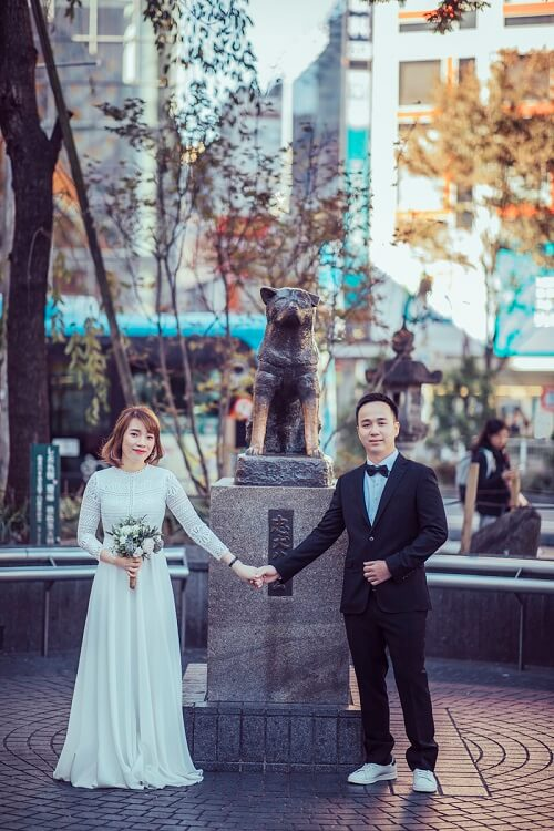 Ảnh cưới 15 triệu đồng giữa nắng thu Tokyo - hình ảnh 8