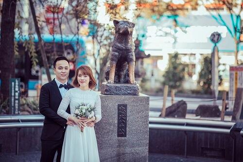Ảnh cưới 15 triệu đồng giữa nắng thu Tokyo - hình ảnh 9