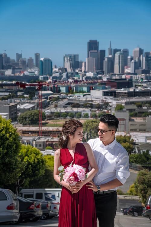Ảnh cưới ở San Francisco của cặp 9X - hình ảnh 9