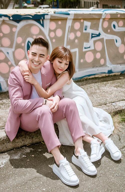 Ảnh cưới tại TP HCM và Jeju của cặp Việt kiều - hình ảnh 2