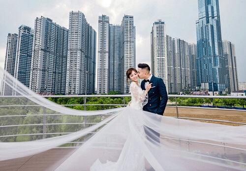 Ảnh cưới tại TP HCM và Jeju của cặp Việt kiều - hình ảnh 4