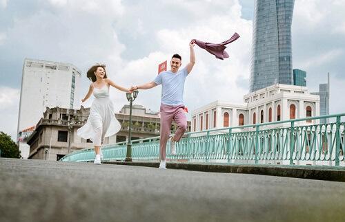 Ảnh cưới tại TP HCM và Jeju của cặp Việt kiều - hình ảnh 5