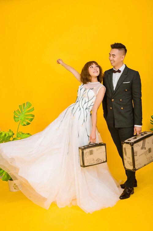 Ảnh cưới tại TP HCM và Jeju của cặp Việt kiều - hình ảnh 6