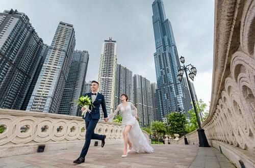 Ảnh cưới tại TP HCM và Jeju của cặp Việt kiều - hình ảnh 8